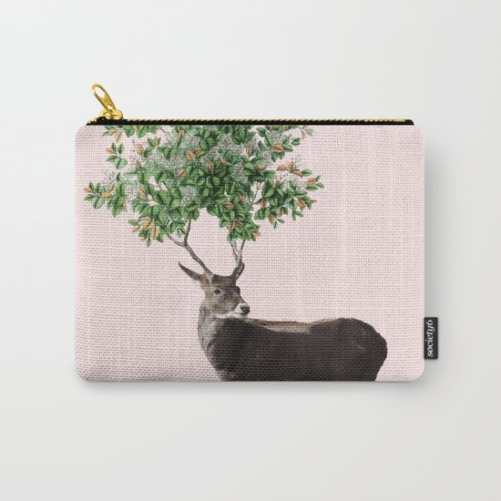 One With Nature V2 #society6 #decor #buyart Carry-All Pouch