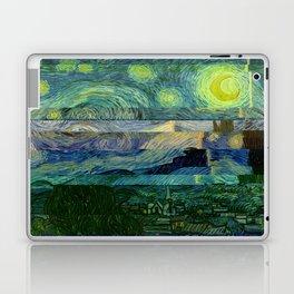 Starry Night Glitch Laptop & iPad Skin