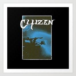 Citizen Art Print