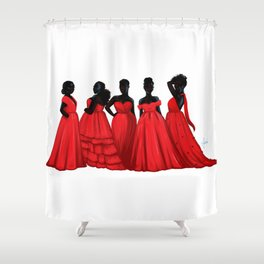 Pick Your Princess Shower Curtain