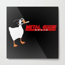 Solid Goose Metal Print