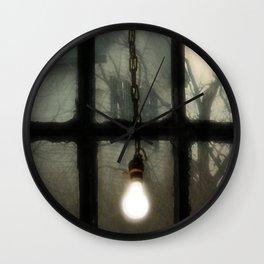 Light In The Window Wall Clock