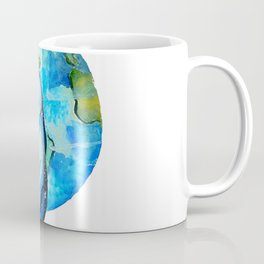 Earth Cat Coffee Mug