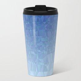 Blue Ombre - Flipped Travel Mug