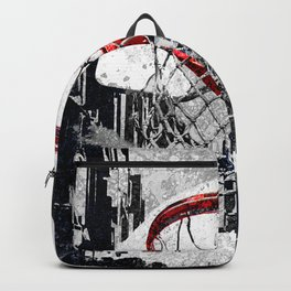 Basketball art print city 2 Backpack