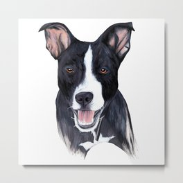 Illy puppy drawing Metal Print