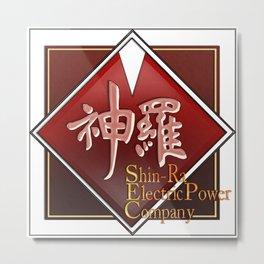 Shin-Ra Electric Metal Print