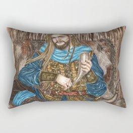 The Guardian of Bifrost Rectangular Pillow