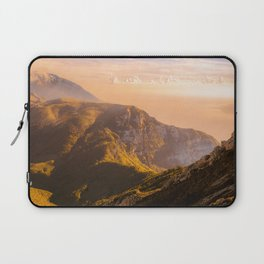 Creamy Dream - Mountains Landscape Photography Laptop Sleeve