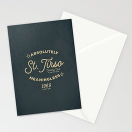 Meaningless Tshirt Stationery Cards