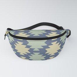Southwestern pattern navy Fanny Pack