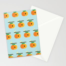 Fruit: Persimmon Stationery Cards