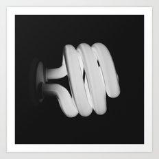 Bulb. Art Print
