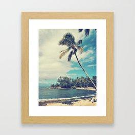 Vintage Tropics Framed Art Print