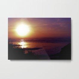 Sun on the Cape Metal Print