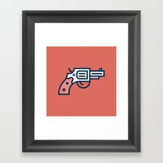 Thus Always to Tyrants: Gunsmoke Edition Framed Art Print