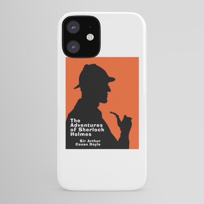 The Adventures of Sherlock Holmes iPhone Case by theianfox