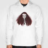 redhead Hoodies featuring Redhead by AParry