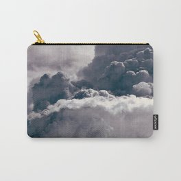 Heavy Thunder Clouds - Spectacular Aerial Photography Carry-All Pouch