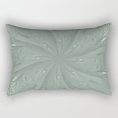 Lost in the Laurels Fractal Bloom Rectangular Pillow