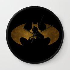 The dark man Wall Clock