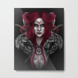 Aries Darkside Metal Print