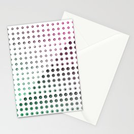 Simultaneous Brightness Contrast Gradient Stationery Cards