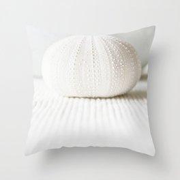 sea urchin Throw Pillow