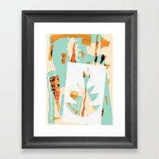 !~º Framed Art Print