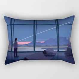 Until We Meet Again Rectangular Pillow