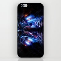 castlevania iPhone & iPod Skins featuring Castlevania: Vampire Variations- Dracula by LightningArts