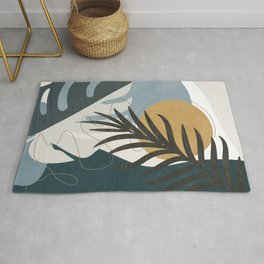 Abstract Tropical Art II Rug