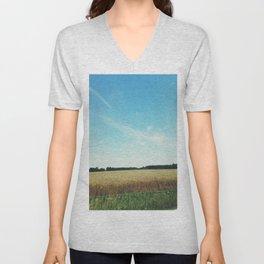 alabama wheat. Unisex V-Neck