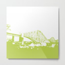 Forth [Green] Metal Print