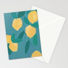 The Pastel Lemon View Stationery Cards