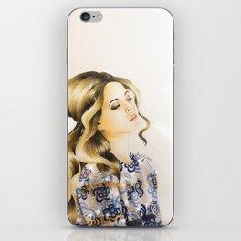Sasha Pieterse iPhone Skin