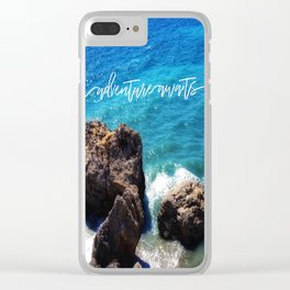 The Great Wave Adventure Clear iPhone Case