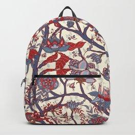 Indian floral pattern Backpack