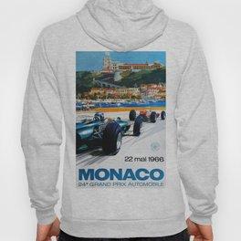 Gran Prix de Monaco, 1966, original vintage poster Hoody