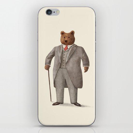 Mr. Bear iPhone & iPod Skin