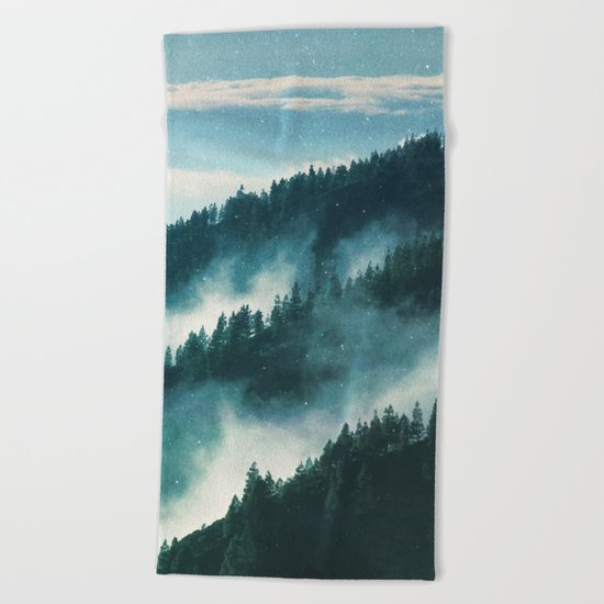 Magical Forest #society6 #buyart #decor Beach Towel