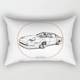 Crazy Car Art 0052 Rectangular Pillow