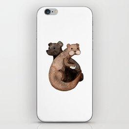 Otter Bear iPhone Skin