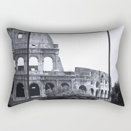 Roman Colosseum Italy Rectangular Pillow