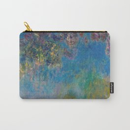 Wisteria by Claude Monet Carry-All Pouch