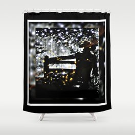 Starry Sky For The Cowboy In Montana Shower Curtain