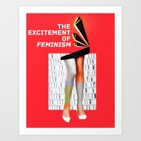 1920's Feminism Art Print