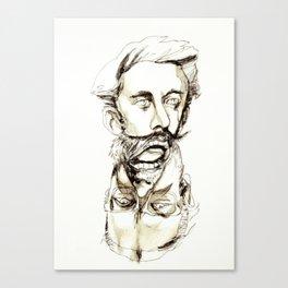 Tristan Corbière, Thick Black Trace, L'Ankou Canvas Print