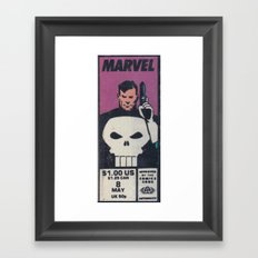 One Dollar Punisher Framed Art Print