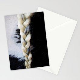 Equine Braid Stationery Cards